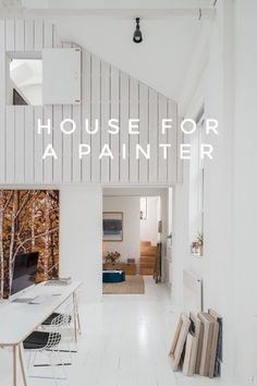 House for a Painter in London, listed with The Modern House, on @stellerstories.