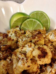 Chili Lime Cauliflower - perfect side for taco night!