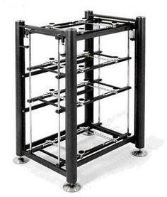 ARTESANIA Exoteryc 4L shelfless suspended audio rack 980Hx530Dx670w | Audio Reference Co.