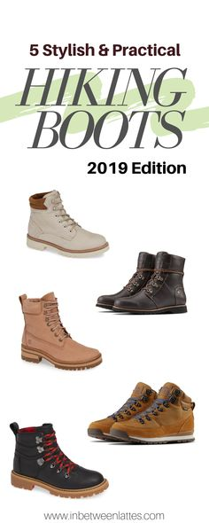 5 Stylish and Practical Hiking Boots for Women 2019 - IN BETWEEN LATTES - 5 Stylish Hiking Boots for Women Chic Hiking Boots, Hiking Boots that don't look like hikin - Hiking Boots Outfit, Mountain Hiking Outfit, Cute Hiking Outfit, Summer Hiking Outfit, Hiking Boots Women, Hiking Shoes, Hiking Outfits, Travel Outfits, Summer Shorts