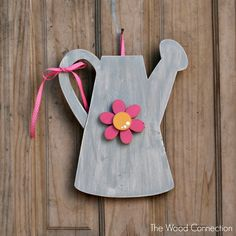 The Wood Connection | Watering Can Door Hang | $7.95