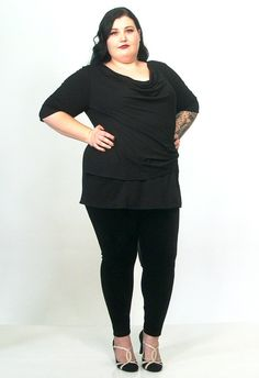 """Super stretch velvet leggings. Easy to wear and indeed care. Perfect with virtually any top, a great staple item in any wardrobe! Please note that people usually size down when buying these leggings.  Model: size 24 and 5'8""""/173 cm tall"""