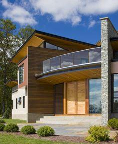 Diseño de Interiores & Arquitectura: Visión Moderna de una residencia: La Casa de Bisagra