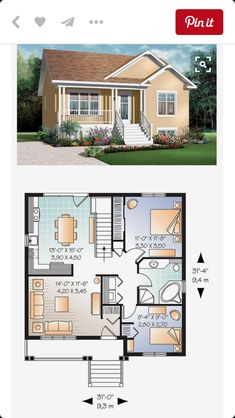 What Do You Need to Know From Sims Plans And House Plans « mistertekno. Sims 4 House Plans, Small House Floor Plans, Family House Plans, Modern House Plans, Sims House Design, Small House Design, Casas The Sims 4, Small Modern Home, Sims 4 Houses