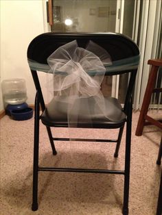 Metal Folding Chair Covers Pattern Tiffany Blue And