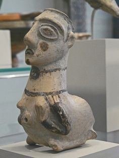 teracotta rhyton, Anatolian late 7th - early 6th Century BCE