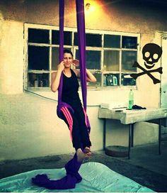 My new purple silks ;)