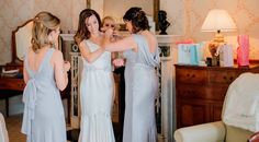 Real weddings: A magnificent wedding in Mount Juliet for Ciara and Justin Mount Juliet, Wedding Morning, Bridesmaid Dresses, Wedding Dresses, Coming Out, Big Day, Real Weddings, Fashion, Morning Of Wedding