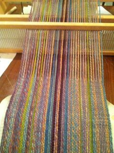 warp- worsted weight, weft- mohair... genius
