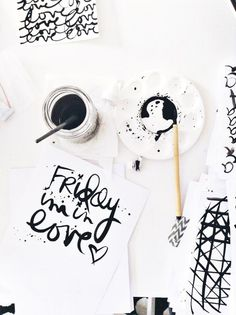 Love this | LIFE|SCRIPTED // Friday & Hello by bckueser at @Studio_Calico