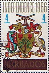 Barbados 1966 Independence SG 356 Scott 290 Fine Used Other West Indies and British Commonwealth Stamps HERE