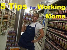 My American Confessions: Monday: 5 Tips for Working Moms