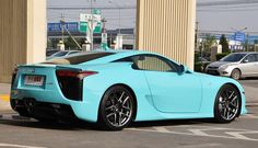#Lexus #LFA Aqua Rear
