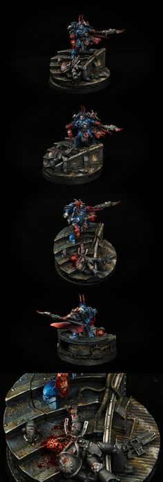 SEVATAR - FIRST CAPTAIN OF THE NIGHT LORDS