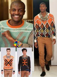 Elementos modernos con inspiracion africana.