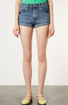 Shorts season: Topshop vintage denim shorts