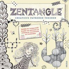 uitgeverij deltas zentangle - creatieve patronen tekenen 0102047   ilovespeelgoed.nl