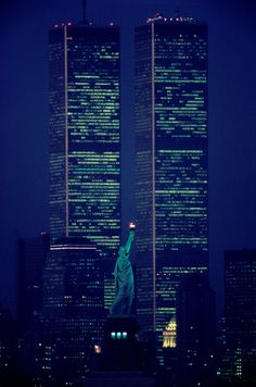#wtc #usa #america #newyork #night #blue