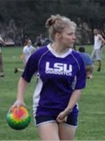 "Melissa White | Chaser | ""Better known as Sugar, Melissa is anything but sweet on the pitch."" #Quidditch http://www.internationalquidditch.org/2012/05/meet-team-usa/#"