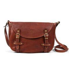 e784a460093d CORELLI - Small Leather Messenger Bag