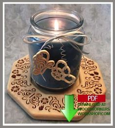 Butterfly Candle Tray