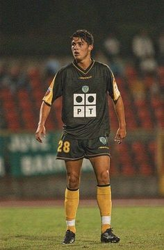 A young Sporting CP talent back in the day named Cristiano Ronaldo...