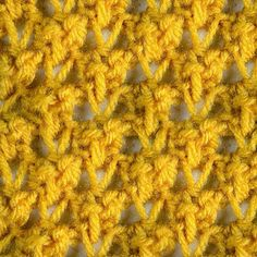 My Tunisian Crochet: Tunisian Raspberry Stitch