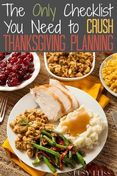 The Thanksgiving countdown is on! Grab your Thanksgiving planner checklist and plan ahead with tips and a timeline to crush your Thanksgiving planning. Thanksgiving Countdown, Thanksgiving Feast, Thanksgiving Recipes, Holiday Recipes, Holiday Meals, Holiday Dinner, Meal Planner, Food Inspiration, Meal Prep