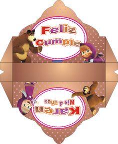 Masha y el oso - Página web de diseñokitdecumpleaños