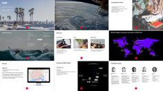 Brand Identity and presentation slides by Bunch for San Francisco based tech start-up Capt