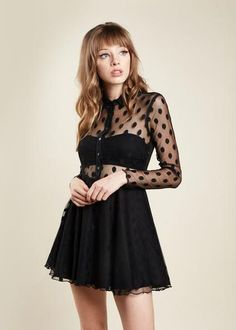 Noir Dress | NYLON SHOP