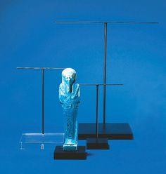 Artifact Sculpture Figurine T-Arm Display by ArtDisplayEssentials