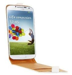 Swiss Charger Etui Cuir Véritable SWISS CHARGER Blanc rabat pour Samsung I9500 Galaxy S4 - 17,96€