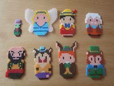 and more: Nana beads disney Disney Hama Beads Pattern, Hama Beads Disney, Pearler Bead Patterns, Perler Patterns, Perler Beads, Perler Bead Art, Fuse Beads, Hama Disney, Pixel Art