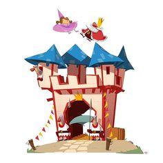 Medieval Bouncy Castle