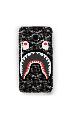 Best Seller New goyard shark 2017 fashion Hard Plastic Case Cover for iPhone 5/5s 6/6s 6s Plus 7 7 Plus by Yuyutbaskoro