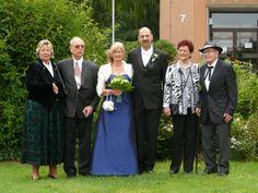 Brautpaar und Eltern