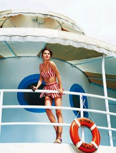 The Terrier and Lobster: Sun, Sea, Glamour!: Rudi Ovchinnikova in Miami by Pamela Hanson for Glamour UK May 2013 First Day Of Summer, Summer Of Love, Summer Time, Summer Beach, Retro Summer, Summer Chic, Beach Bum, Summer Days, Pamela Hanson