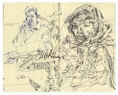accidental mysteries: Artist James Jean: A Look Inside