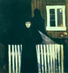 MUNCH Edward, Clair de lune, 1893