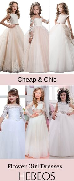 a9c4855a8 Flower Girl Dresses Cheap Flower Girl Dresses For Wedding - Hebeos Online