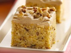 Butternut Squash Cake....my sis makes a cake with squash that is super moist, I cant wait to try this!