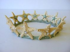 Starfish Mermaid Crown by mermaidspalace on Etsy More