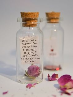 A personal favorite from my Etsy shop https://www.etsy.com/uk/listing/496380980/if-i-had-a-flower-tennyson-poem-message