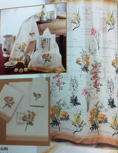 Alana Shower Curtain and accessories starting @$18.99. To Order Call toll-free 877-722-1100