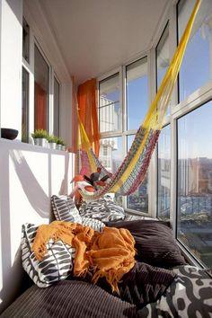 Где и как повесить гамак в квартире