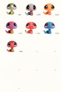 - Littlest Pet Shop: Dezember 2009 snake Lps Littlest Pet Shop, Little Pet Shop Toys, Little Pets, Lps Dachshund, Animals And Pets, Cute Animals, Lps Pets, Pet Snake, Disney Colors