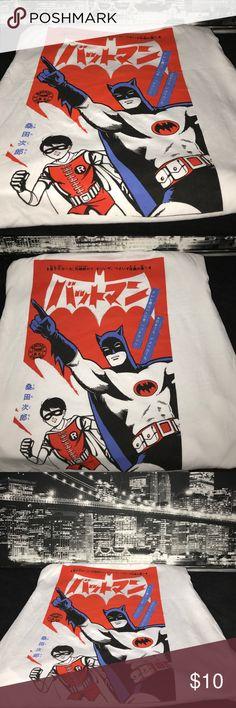 Japanese Bateman & Robin T Shirt Show the world the Batman & Robin can still kick butt. Enjoy. Hot Topic Shirts Tees - Short Sleeve