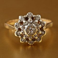 vintage engagement ring, really different