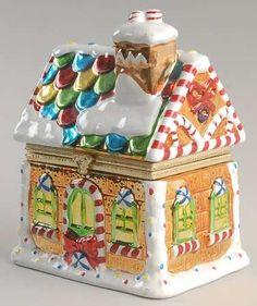 Gingerbread House Music Box